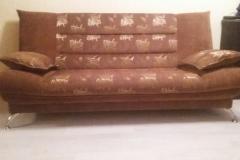 Комбинация обивки на диване