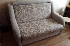 Комбинация ткани на диване в три сложения, замена поролона.