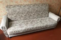 Перетяжка дивана с заменой наполнителя