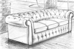 Эскиз дивана