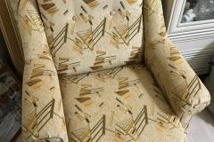 Кресло журавушка после перетяжки