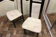 Обивка стула в велюр