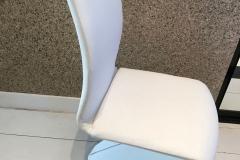 Замена обивочного материала на фигурном стуле