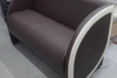 Перетяжка офисного дивана