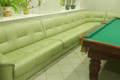 Угловой диван 5-ти секционный после перетяжки