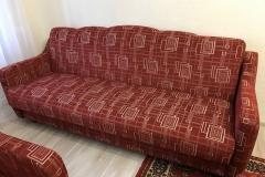 Перетяжка дивана в шенилл