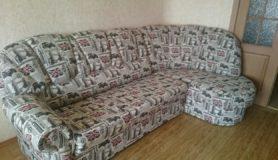 Перетяжка дивана в мастерской