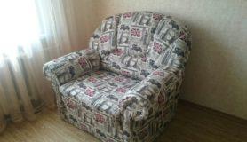 Перетяжка кресла в мастерской